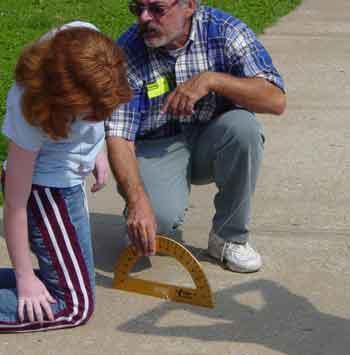 Measuring the Sun's Altitude